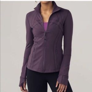 Lululemon Define Jacket in Black Currant